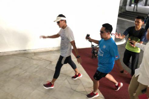 Meski Sedang Berpuasa, Sandiaga Tetap Olahraga Pagi