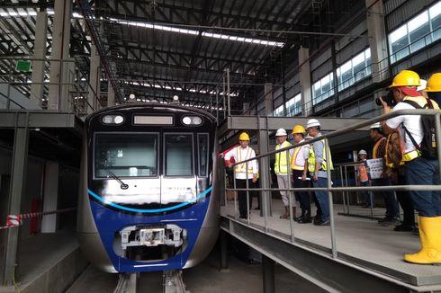 September 2018, Uji Coba Kereta MRT Jakarta Lebak Bulus-Bundaran HI