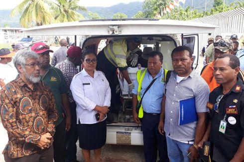 Jenazah Co Pilot Dimonim Air Dipulangkan ke Papua Nugini