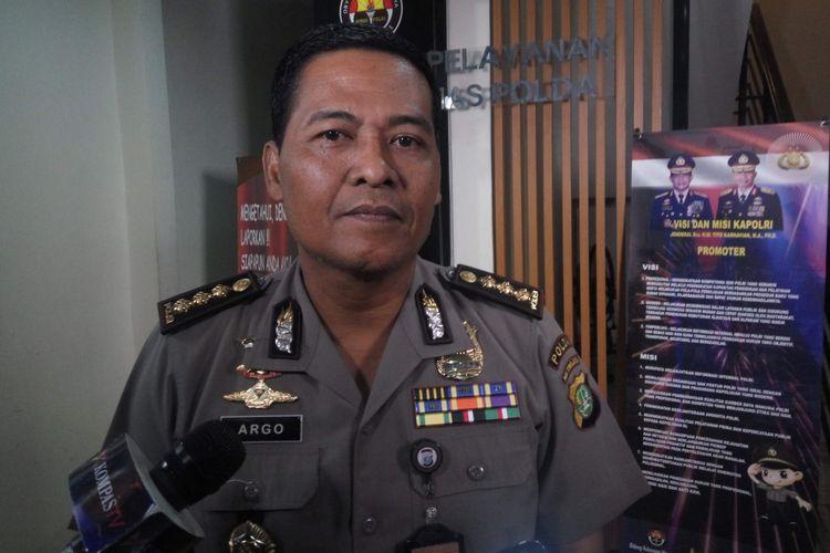 Kabid Humas Polda Metro Jaya Kombes Argo Yuwono di Mapolda Metro Jaya, Kamis (6/7/2017).