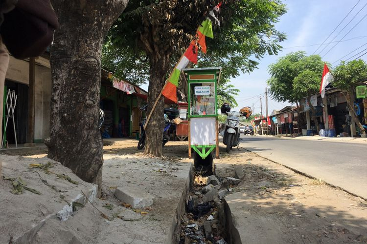 Tempat kejadian pembakaran MA pada Selasa (1/8/2017) di Pasar Muara Bakti, Desa Muara Bakti, Kecamatan Babelan, Kabupaten Bekasi, Jumat (4/8/2017).