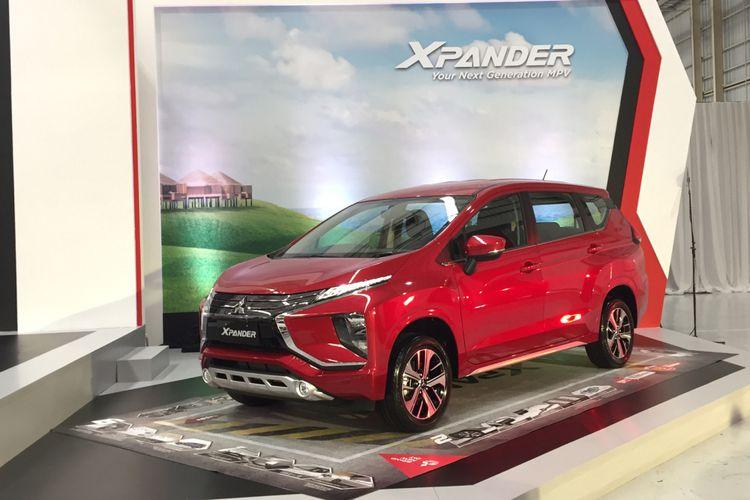 Mitsubishi Xpander siap dikirim ke konsumen