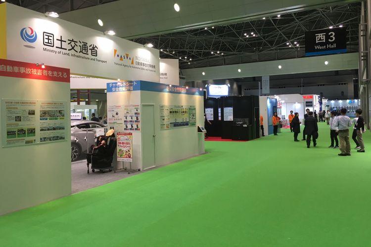 Stan aftermarket dan aksesori menyebar di setiap hall Tokyo Motor Show 2017