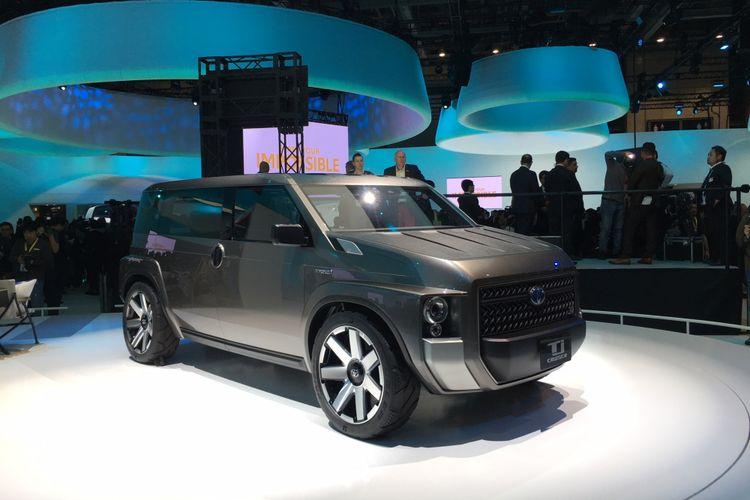Toyota Tj Cruiser Concept jelmaan karakter SUV dan MPV