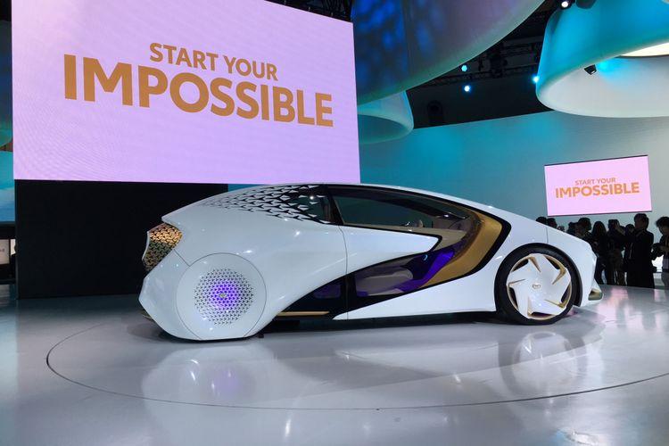 Toyota Concept-i sangat peka dengan emosi dan suasana hati pengemudi