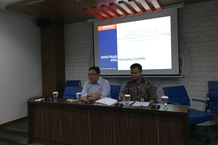 Ombusdman menemukan indikasi praktik maladministrasi yang dilakukan oknum Satpol PP DKI berupa pungutan liar, penyalahgunaan wewenang, hingga pembiaran yang dilakukan oknum Satpol PP DKI terhadap pedagang kaki lima di Jakarta, Jumat (24/11/2017).