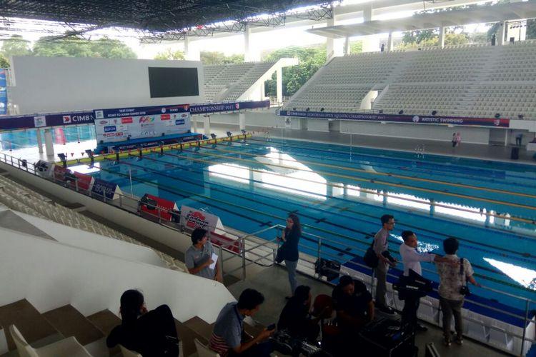 Venue Aquatic Stadium, Gelora Bung Karno, Senayan, Jakarta.