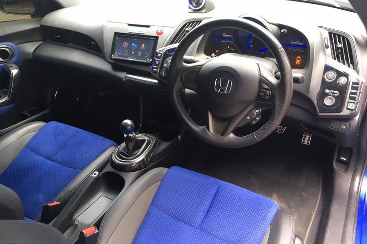Interior Honda CR-Z Mugen sarat aura balap