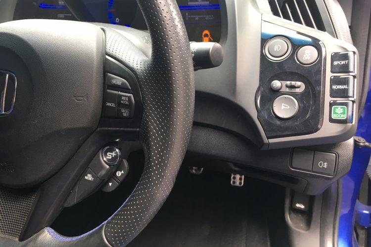 Mode pengendaraan variatif milik Honda CR-Z Mugen