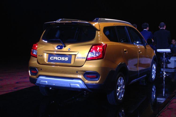 Datsun Cross meluncur pertama di Indonesia, Kamis (18/1/2018).