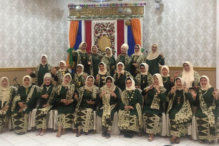 Sebagian pengurus inti Ikatan Budi Ibu, Januari 2018.