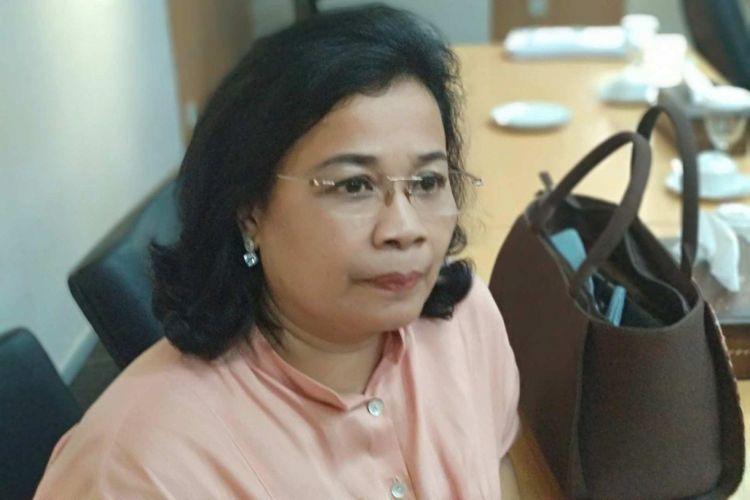 Wakil Ketua Badan Pembentukan Peraturan Daerah (Bapemperda) DPRD DKI Jakarta, Merry Hotma, Rabu (14/3/2018).