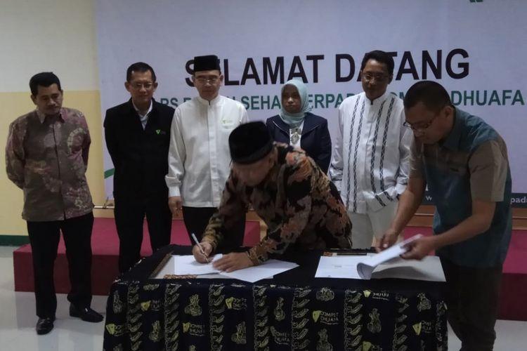 Kerja sama antara Dompet Duafa dan Jamkrindo Syariah