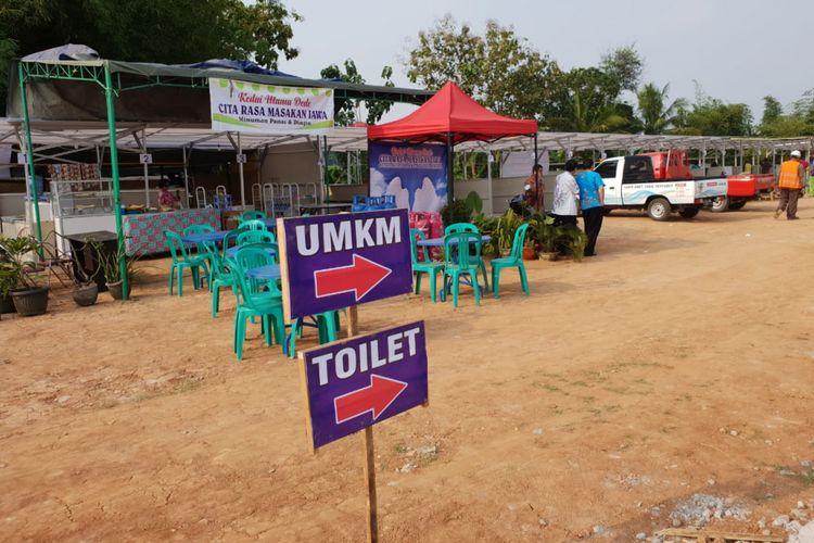 Rest area di ruas tol fungsional Pejagan-Pemalang-Batang.