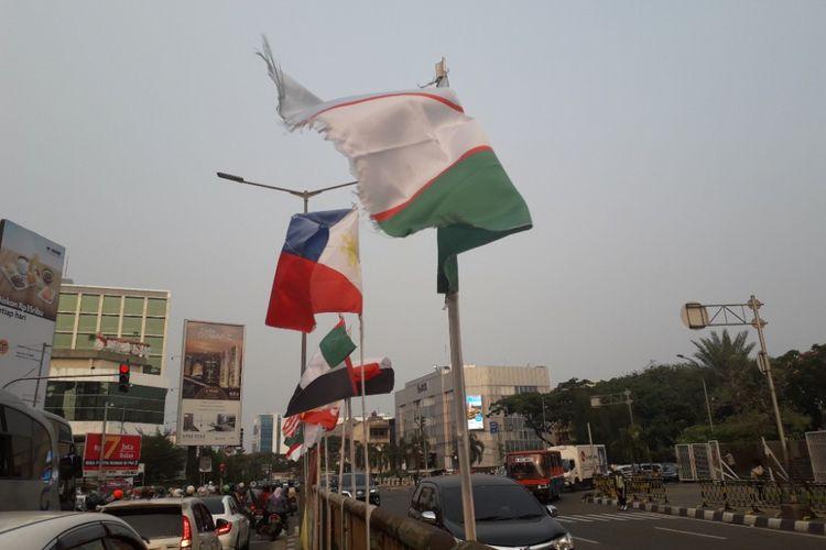 Kontroversi Bendera Peserta Asian Games Diikat Di Bambu Dan Memo
