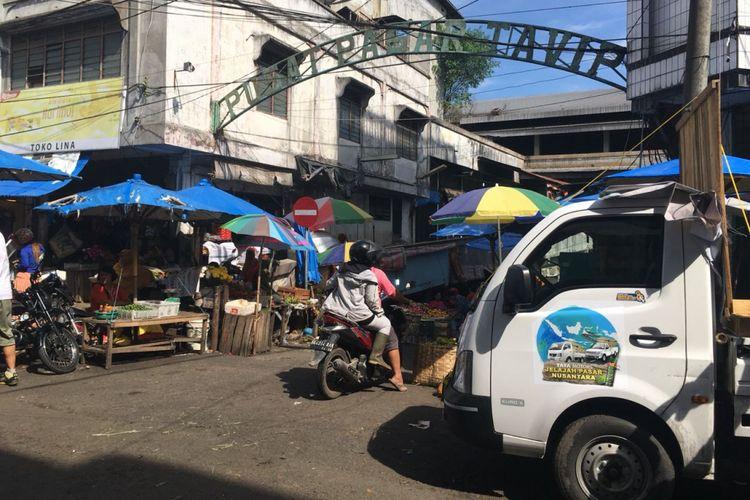 Pasar Tavip Binjai, Medan, Sumatera Utara