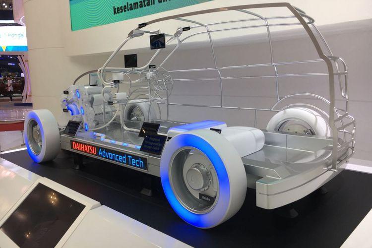 Daihatsu Advance Tech, termasuk hybrid dan listrik Daihatsu di GIIAS 2018.