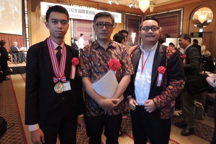 Delegasi Indonesia bersama Duta Besar RI untuk Jepang, Eko Junor.