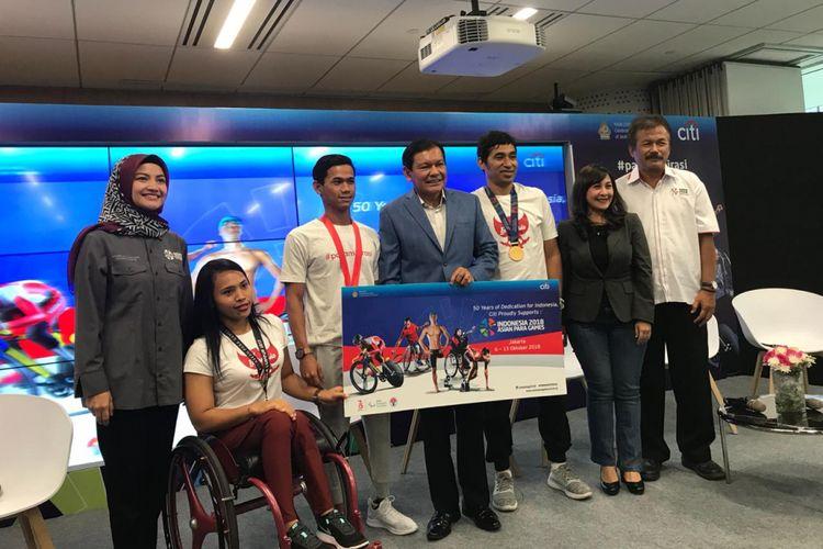 Citibank jadi Sponsor Asian Para Games 2018 di Indonesia