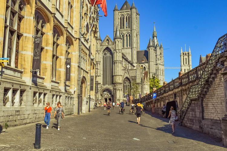 Kota Ghent di Belgia