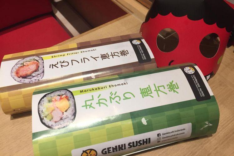 Fakta Seputar Ehomaki, Makanan Pembawa Keberuntungan di Jepang