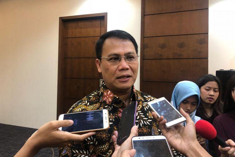 Wakil Sekjen PDI-Perjuangan Ahmad Basarah di kompleks parlemen, Selasa (13/11/2018).