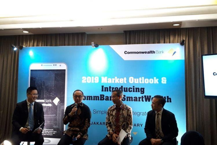 Diskusi Market outlook Commonwealth, Jumat (18/1/2019).