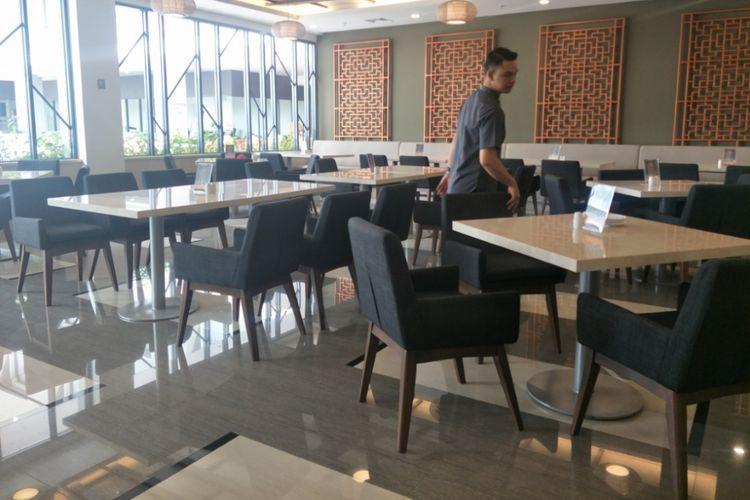 DLotus restaurant Harper Palembang yang menyajikan chinese food.