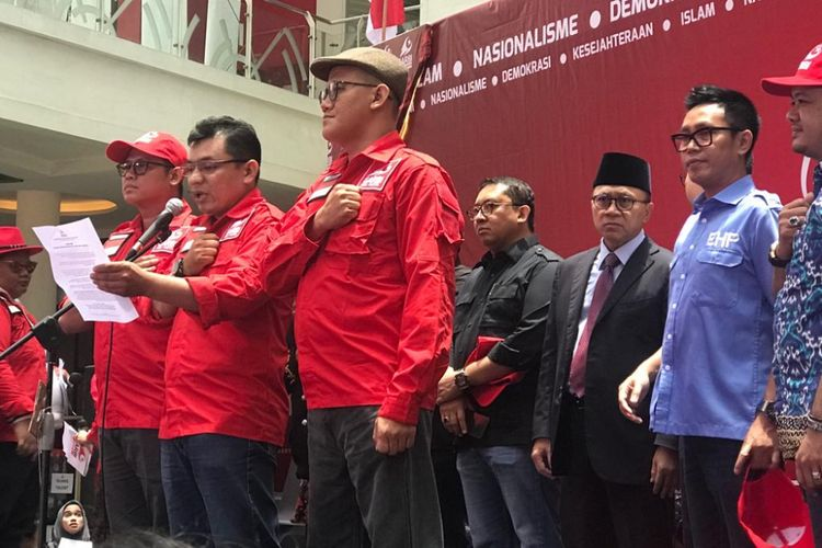 Gerakan Arah Baru Indonesia (GARBI) DKI Jakarta resmi dideklarasikan pada Minggu (3/3/2019), di Epicentrum Walk, Rasuna Said, Jakarta Selatan.
