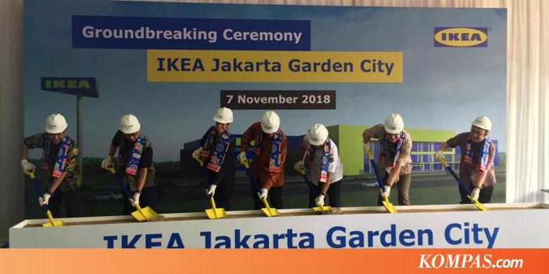 HERO Hadir di Timur Jakarta, Gerai IKEA Kedua Mulai Dibangun di JGC - Kompas.com