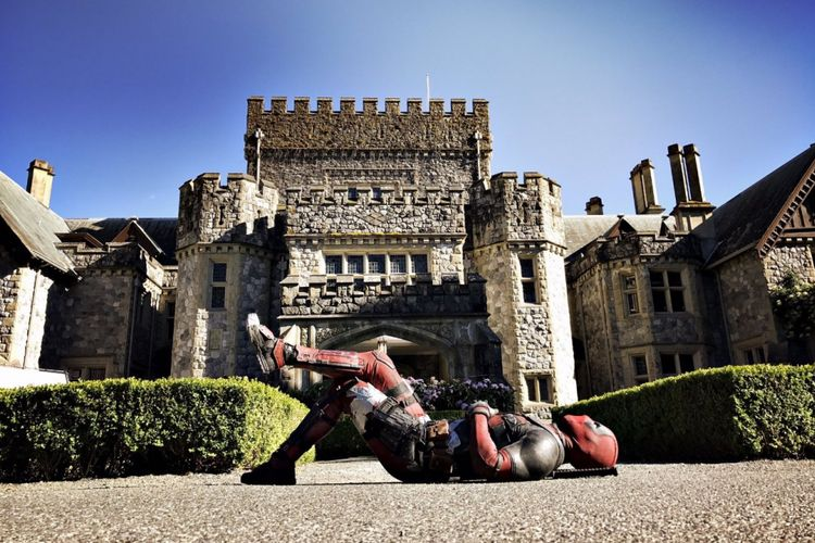 Ryan Reynolds dalam film Deadpool2