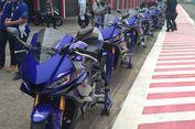 Geber Yamaha R25 dan FreeGo di Sirkuit Sentul