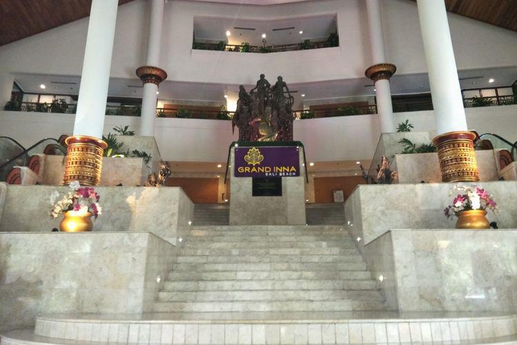 Hotel Grand Inna Bali Beach yang terletak di Sanur, Denpasar, Bali akan direvitalisasi menjadi Kawasan Hotel Indonesia Bali.