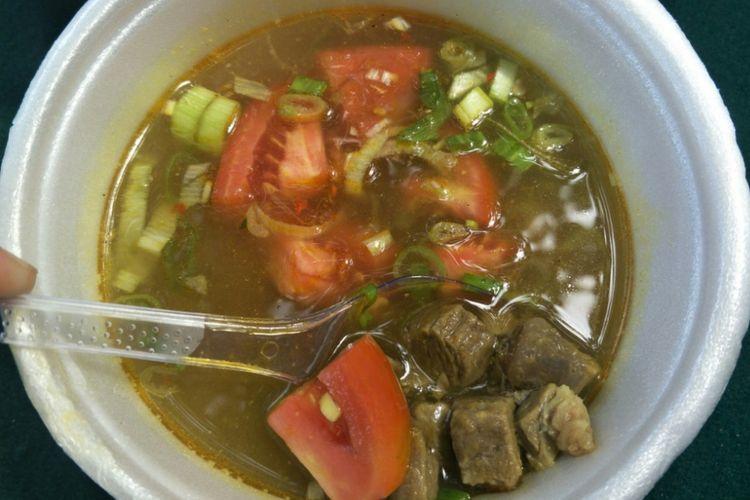 Angeun Lada, sayur pedas berkuah khas Banten.