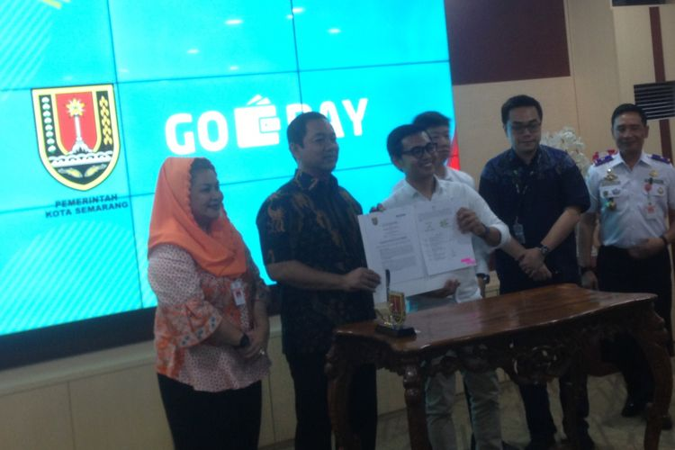 Go-Pay Kini Layani Pembayaran Tiket Trans Semarang