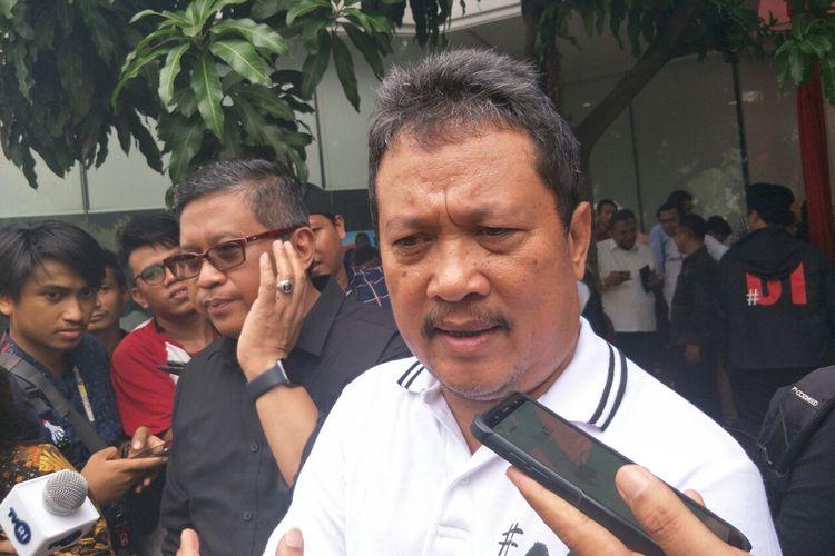 Bendahara Tim Kampanye Nasional (TKN) Jokowi-Maruf, Sakti Wahyu Trenggono, di Jalan Taman Patra XII, Selasa (30/4/2019).