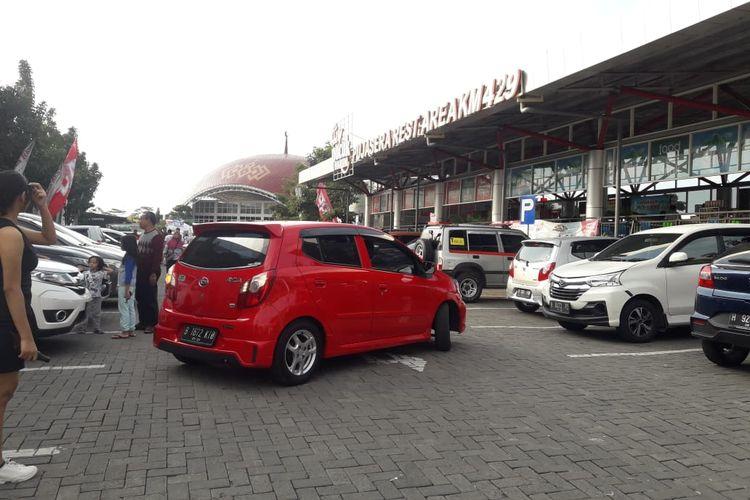 Kondisi rest area KM 429 Tol Semarang-Solo, Jumat (31/5/2019)