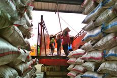 Kabar Impor Sebabkan Harga Beras di Karawang Turun