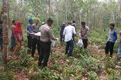 Kerangka Manusia Ditemukan di Kebun Karet di Riau