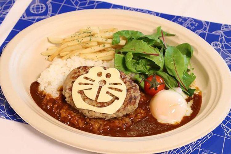 Doraemon Loco Moco Don (1.200 yen)