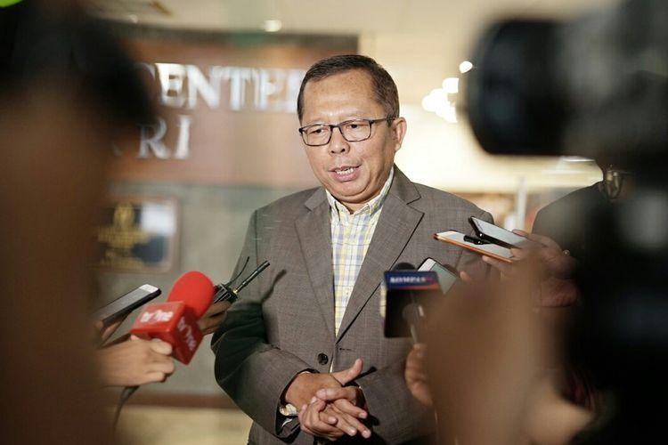 Anggota Komisi III dari Fraksi PPP Arsul Sani di Kompleks Parlemen, Senayan, Jakarta, Rabu (29/5/2019).