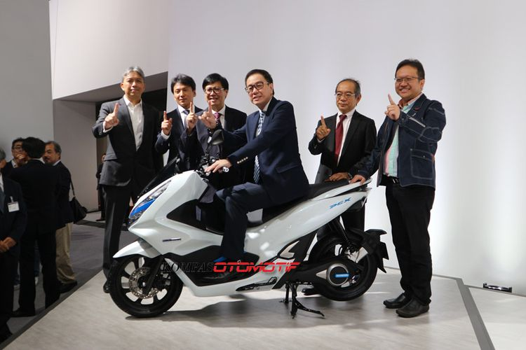 Honda PCX Electric di Tokyo Motor Show 2017