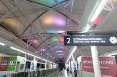 Hiburan Pelepas Mumet Saat di Stasiun MRT Blok M