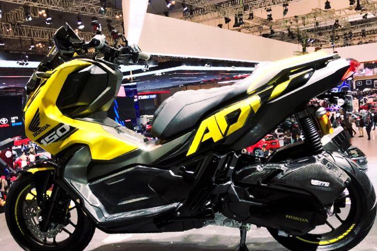Modifikasi Honda ADV150 dipajang di GIIAS 2019.
