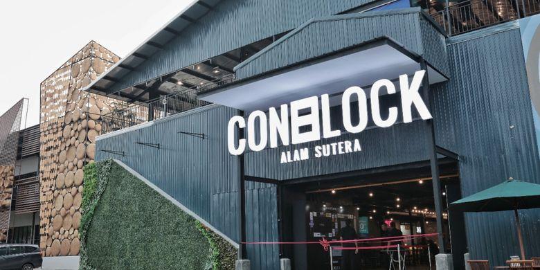 ConBlock, urban space yang digagas sebagai ruang kreatif bagi orang-orang muda.