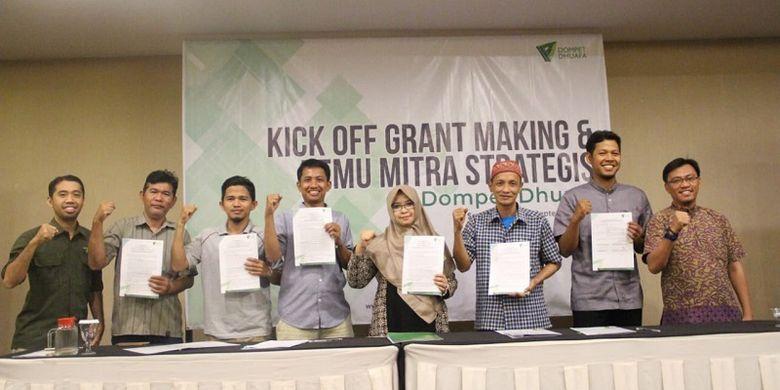 Mitra Dompet Dhuafa Filantropi dari seluruh daerah menyepakati bersama program yang akan bergulir ke depannya.