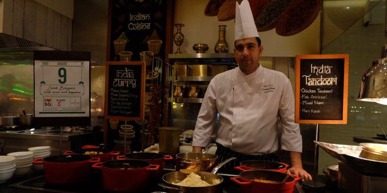 Pojok Little India di Singapore Culinary Week, Hotel Shangri-La Jakarta.