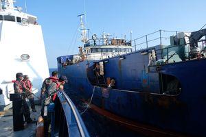 Satgas Pimpinan Susi Tangkap Kapal Panama Buruan Interpol