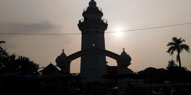 Masjid Agung Banten di Kawasan Banten Lama yang jadi ikon destinasi wisata religi.