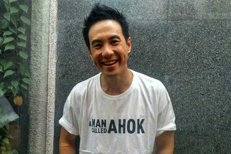 Daniel Mananta saat ditemui dalam wawancara eksklusif di kawasan Menteng, Jakarta Pusat, Rabu (7/11/2018).